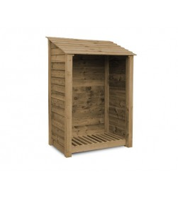 SINGLE BAY 6FT LOG STORE