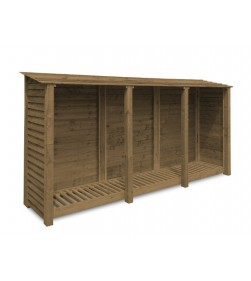 TRIPLE BAY 6FT LOG STORE