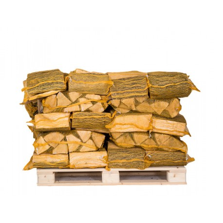 NETS OF KILN DRIED LOGS