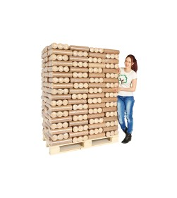 ECO BRIQUETTE HEAT LOGS