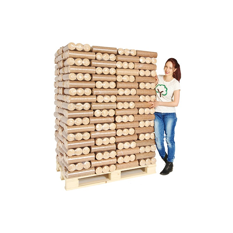Heat Logs Eco Briquettes In 10kg Packs