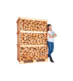 BIRCH CRATE KILN DRIED LOGS