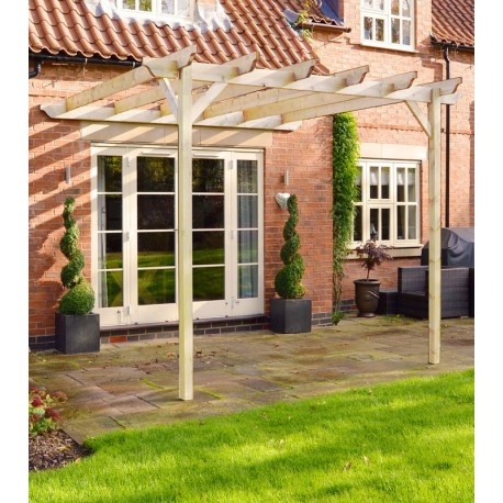 - Outdoor Lean To Pergola 3M X 3M