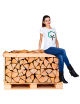 BIRCH KILN DRIED LOGS HALF CRATE