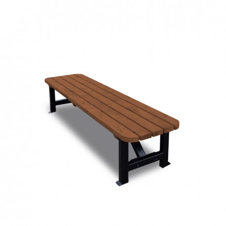 4 FOOT KETTLE BENCH BROWN