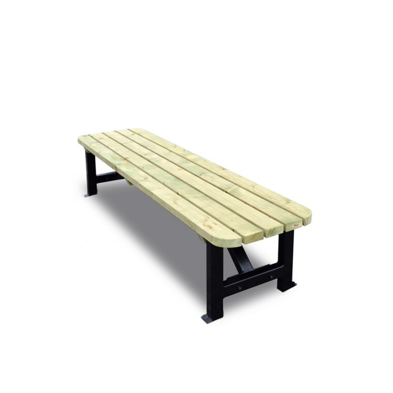 Outdoor Kettle Bench 6 Ft