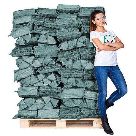 70 BIRCH NETS KILN DRIED LOGS
