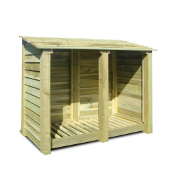 DOUBLE BAY 4FT LOG STORE