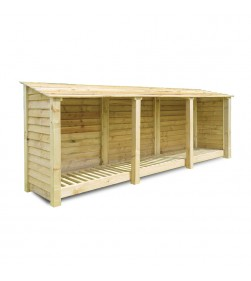 TRIPLE BAY 4FT LOG STORE