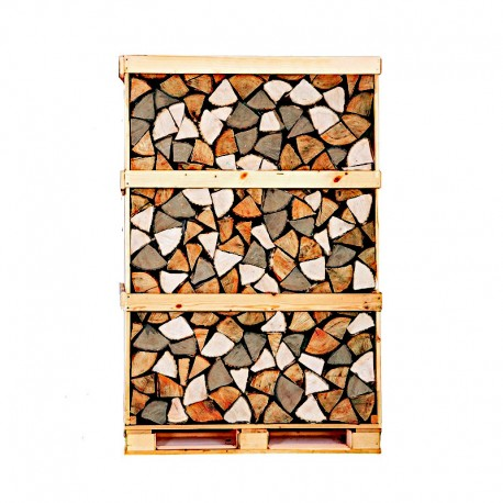 MIXED HARDWOOD CRATE KILN DRIED LOGS