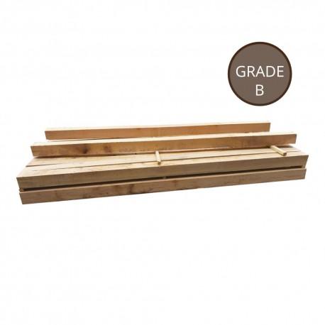 Grade B sleepers 150x150x2400