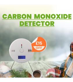 LCD CARBON MONOXIDE (CO) DETECTOR