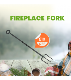 21 INCH FIREPLACE FORK