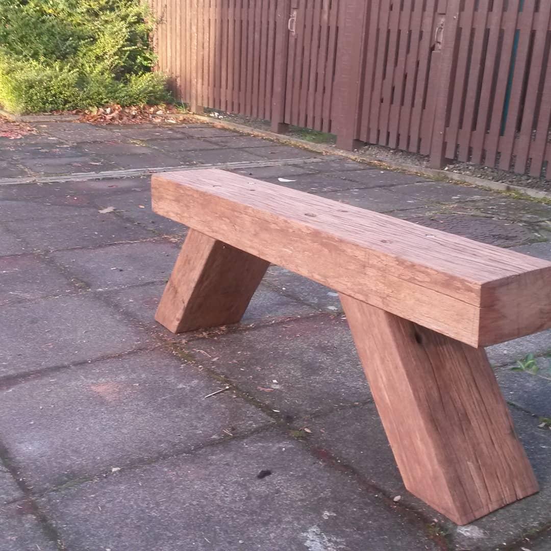 rustic garden sleepers furniture ideas