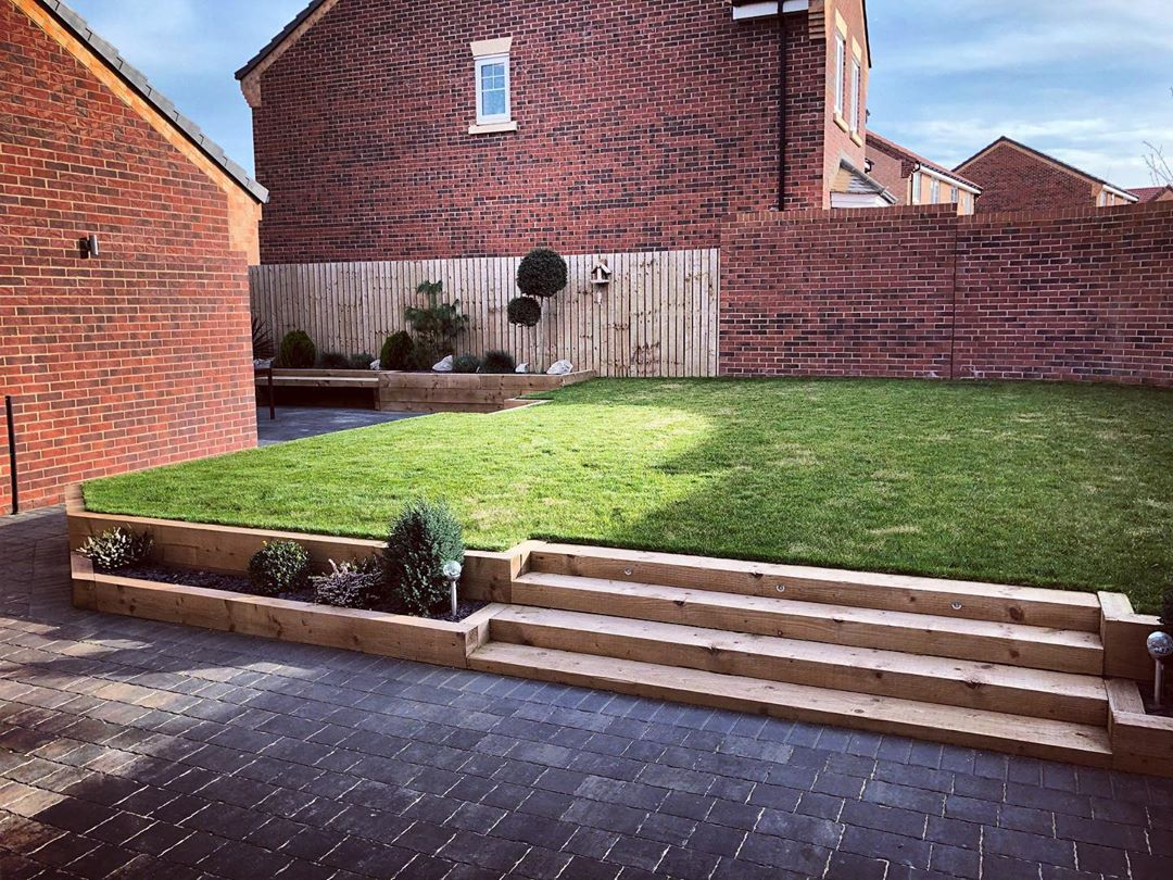 Top 22 Ideas For Using Railway Sleepers In The Garden