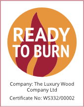 Ready to Burn Certificate for Heat Logs by Luxury Wood Company