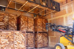 Kiln dried frirewood is the best option
