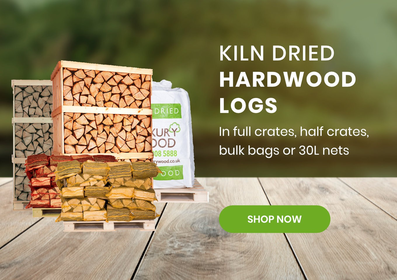 Kiln Dried Logs For Sale - Luxury Wood Company