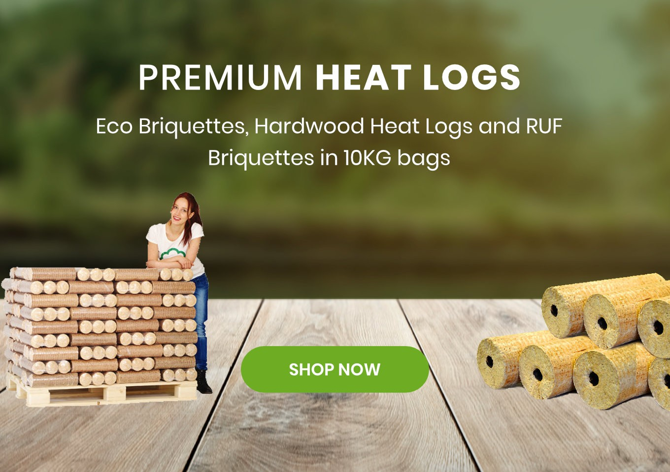 Heat Logs For Sale - The Luxury Wood Company