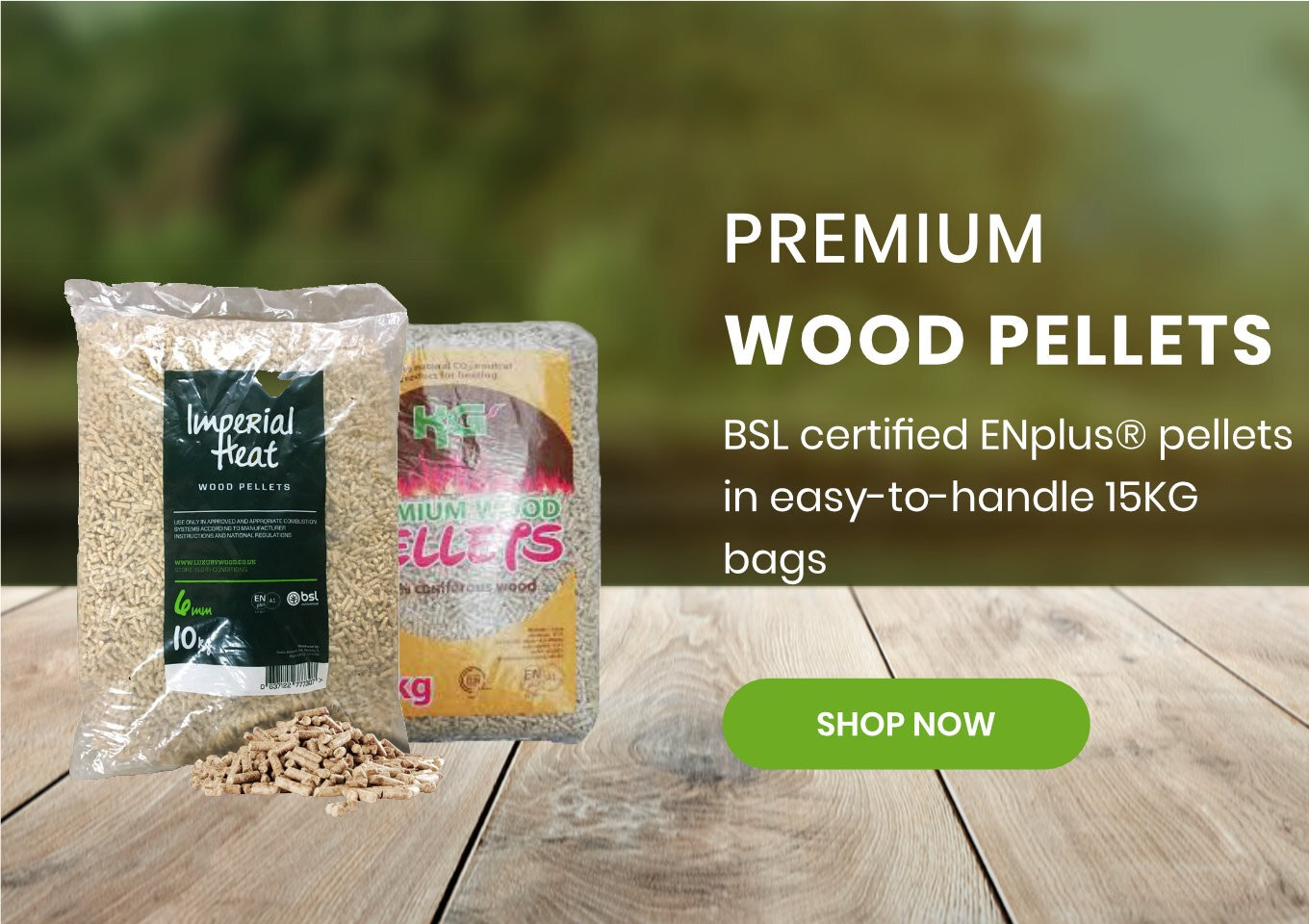 Wood Pellets On Sale - Luxury Wood Company