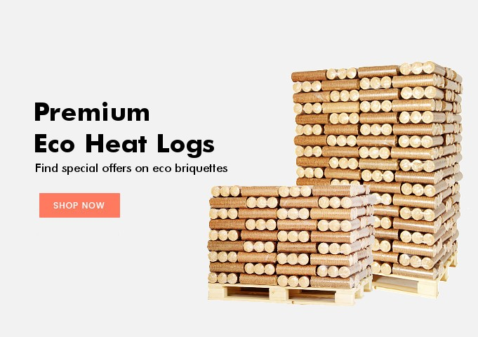 Eco heat logs
